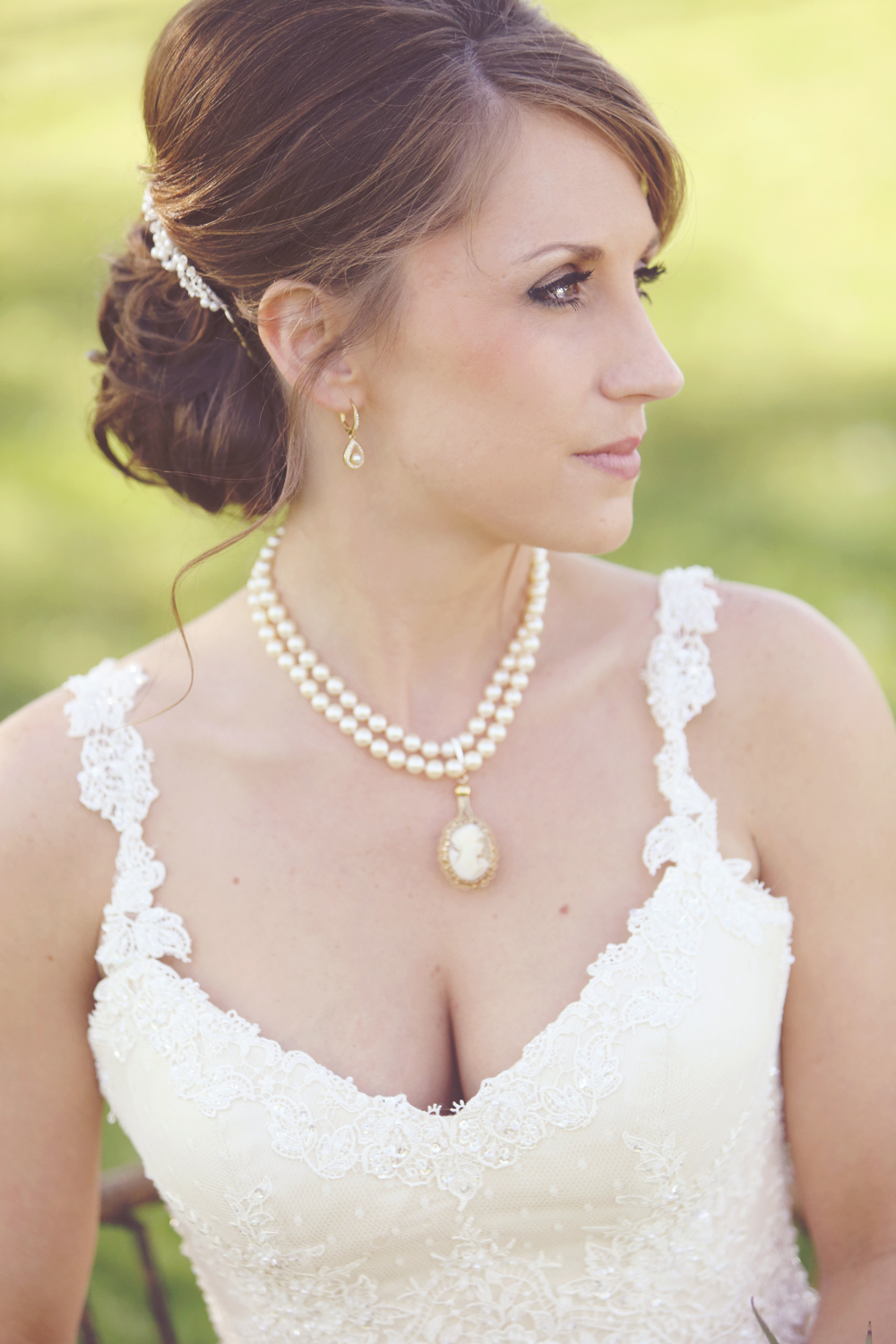 BridalPulse - Sweet Home Alabama Farm Wedding By Rent My Wedding | bridal portrait
