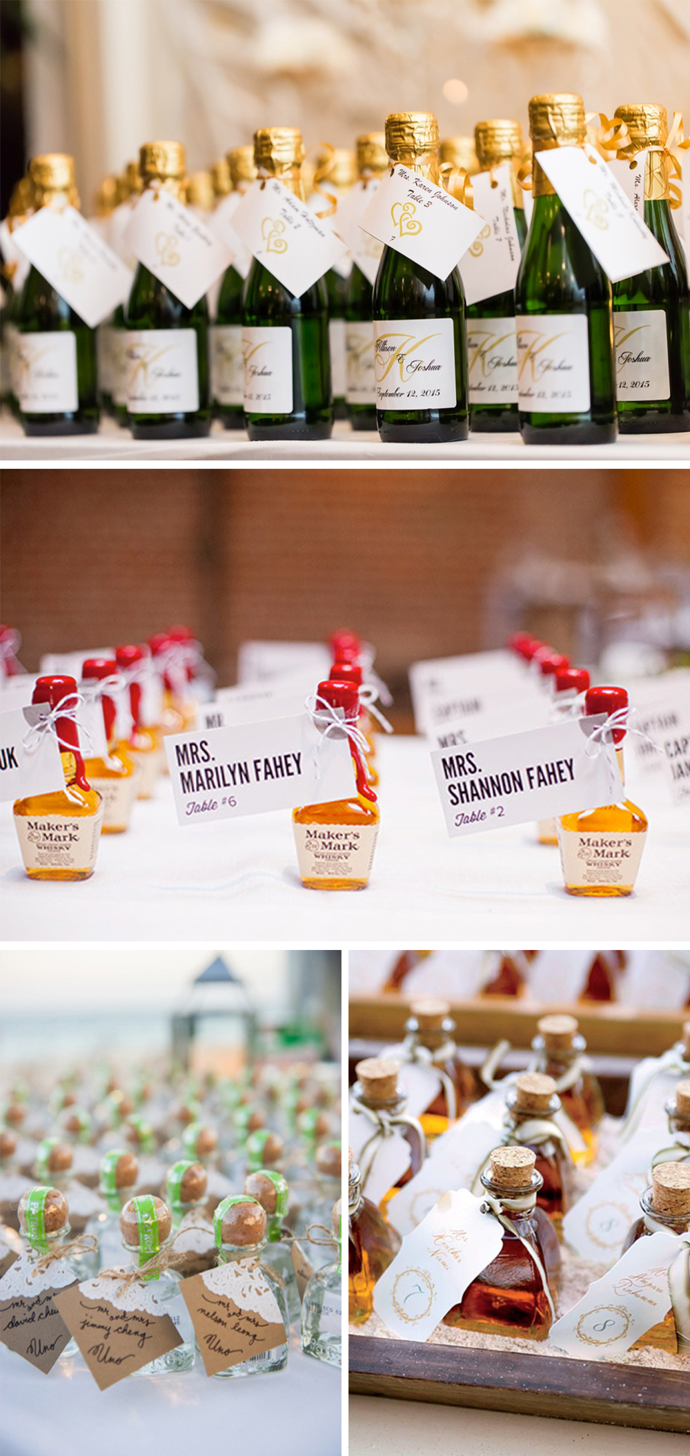 4 Creative Ideas To Include Alcohol Displays In Your Wedding Reception