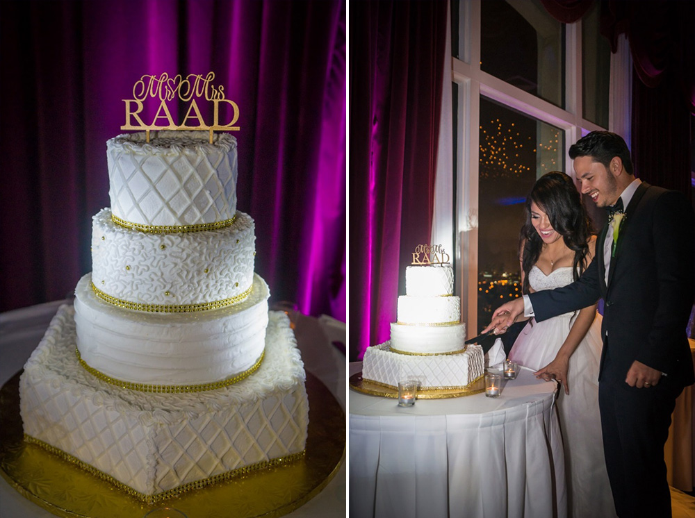 BridalPulse - How to Make Your Wedding Cake Pop! - cake spotlighting by rent my wedding