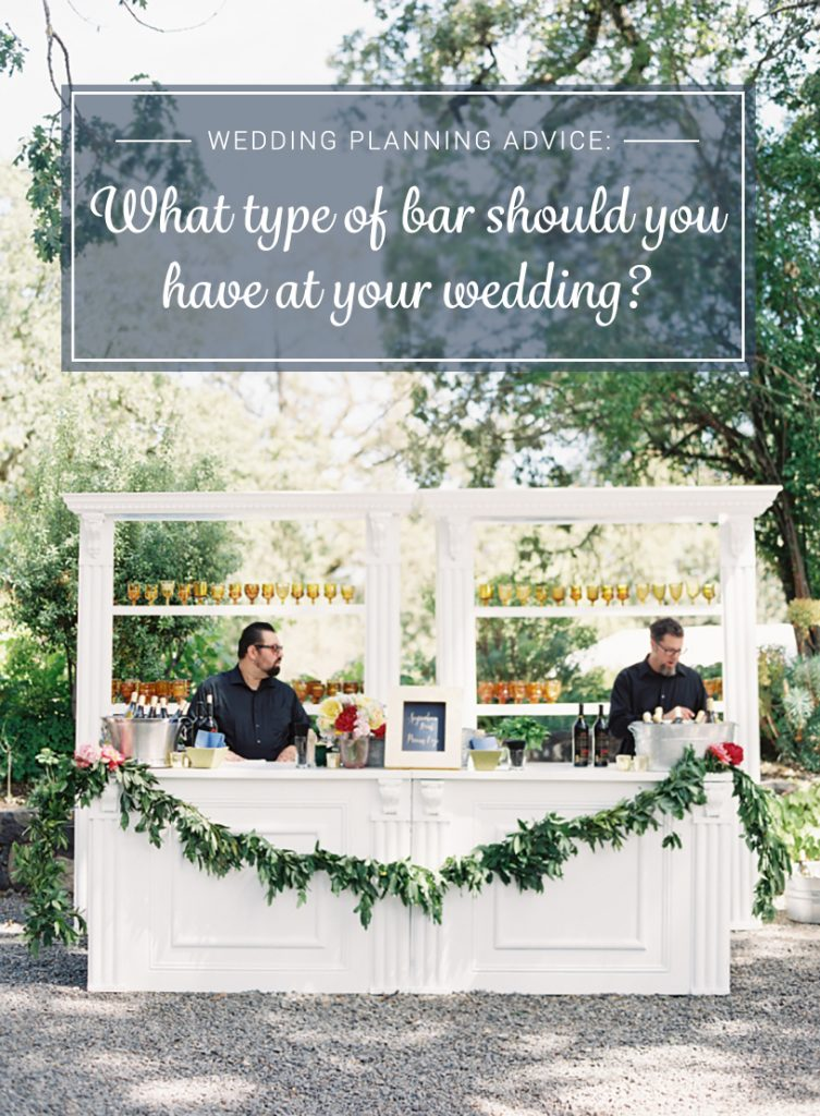 bridalpulse should you have an open bar cash bar or in between at your