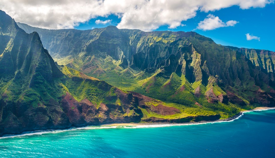 BridalPulse - Top Ten Mini-Moon Destinations | kauai hawaii mini honeymoon