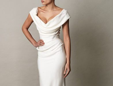 Classic Wedding Gowns with Portrait Necklines: Part 2