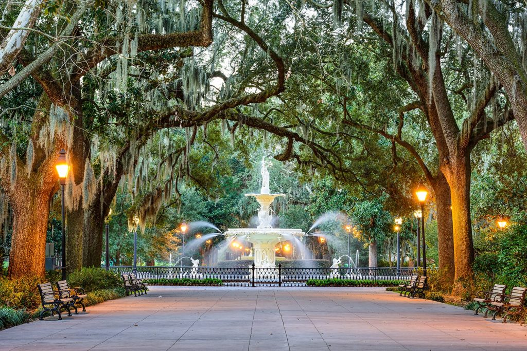 BridalPulse - Top Ten Mini-Moon Destinations | savannah georgia mini honeymoon