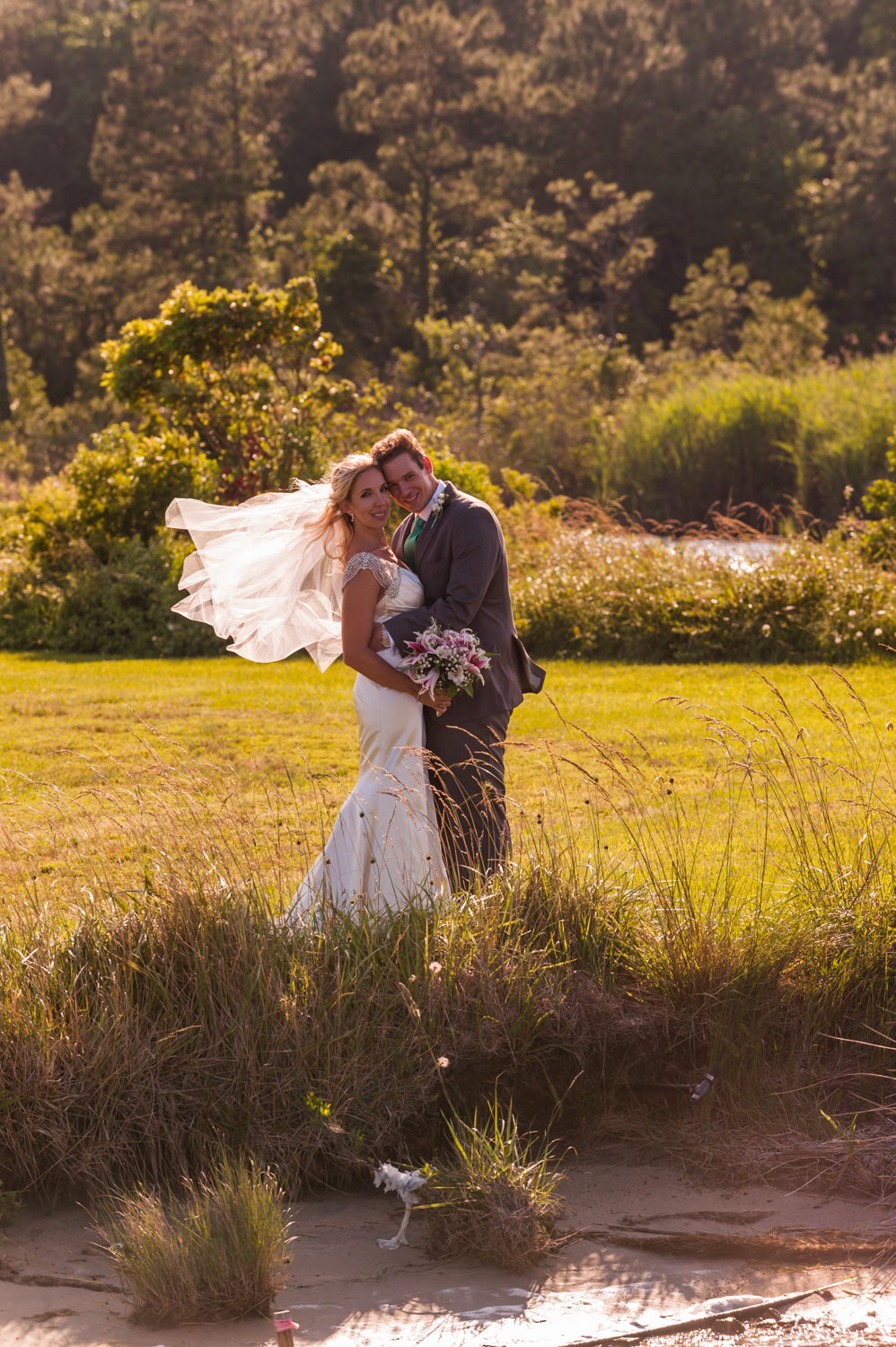 BridalPulse - An Outdoor Vineyard Wedding in NC By Rent My Wedding