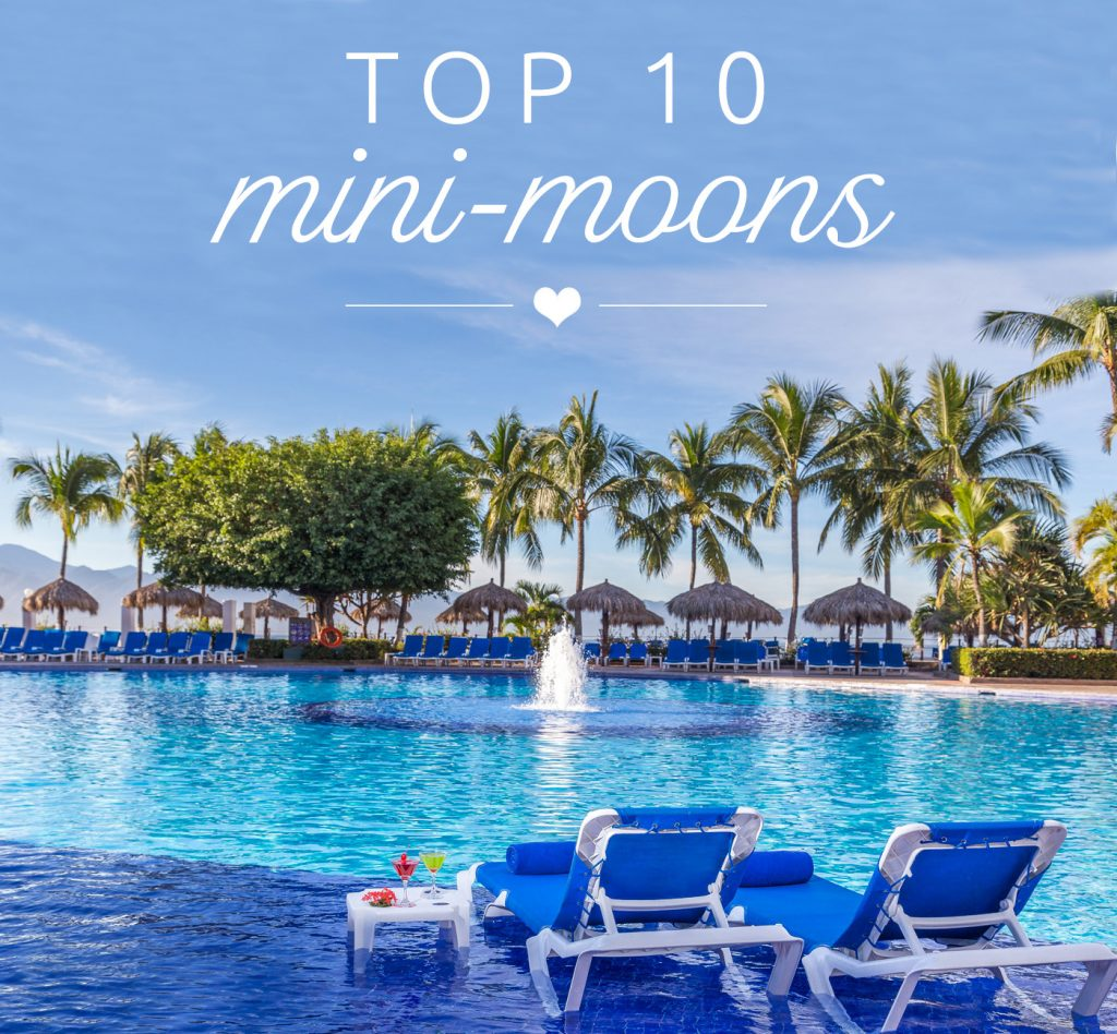 BridalPulse - Top Ten Mini-Moon Destinations - mini honeymoons