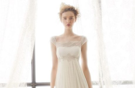 10 More Flattering Wedding Gowns with Empire Waistlines