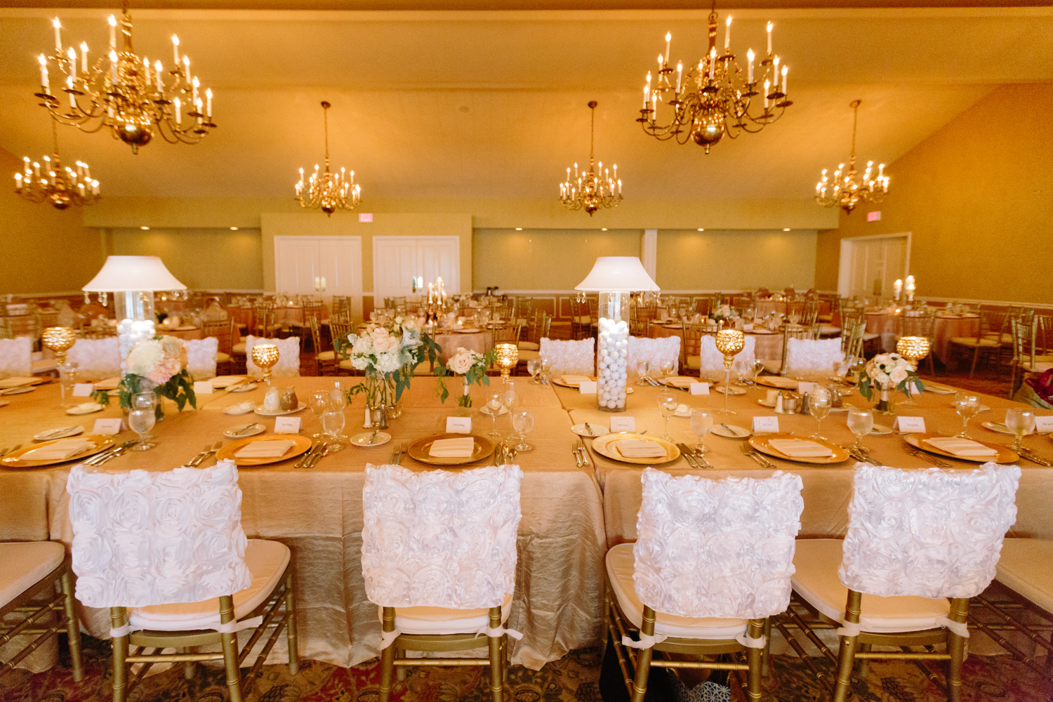 BridalPulse - Golf Lovers' Country Club Wedding By Rent My Wedding
