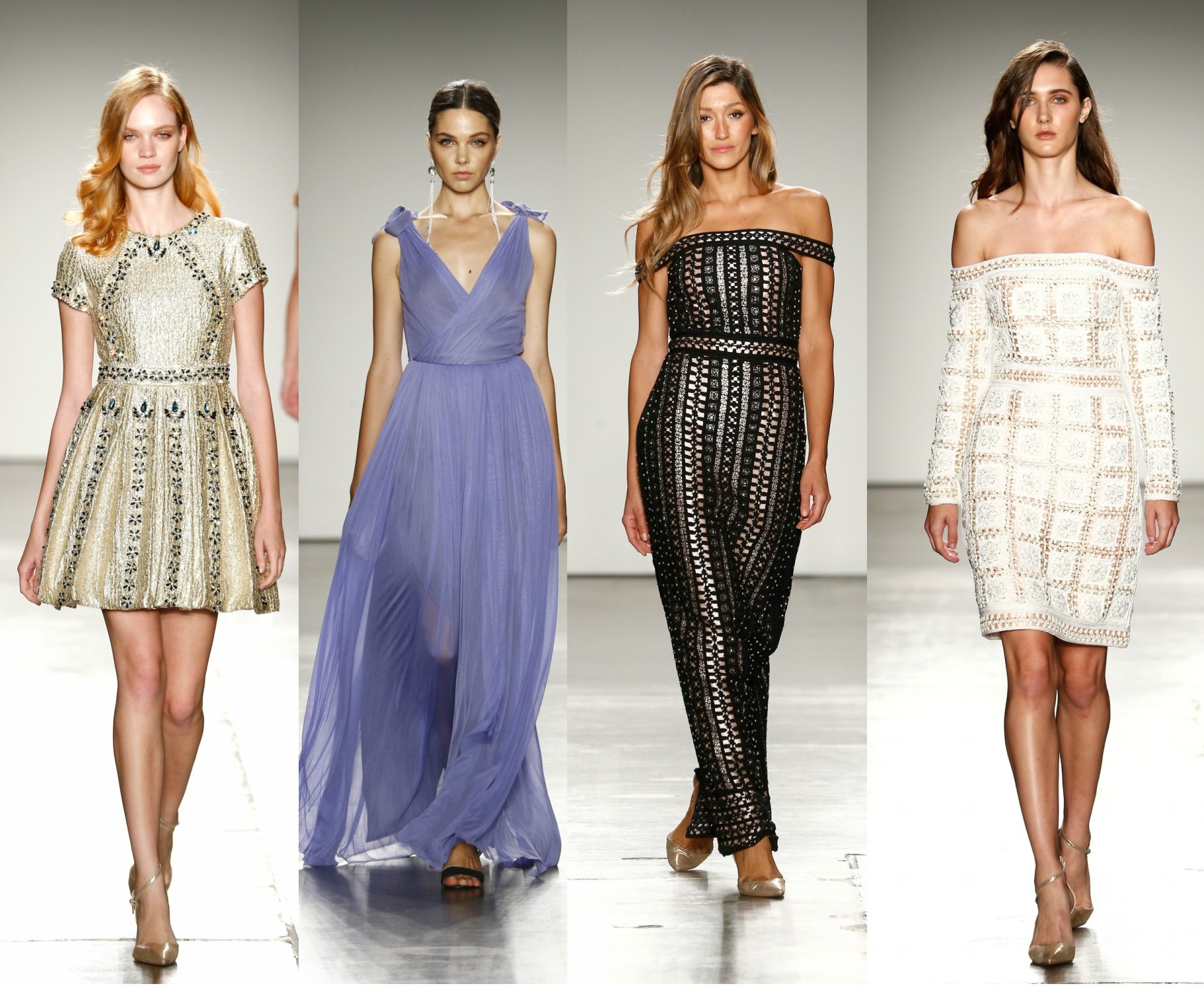 Wedding guest style inspo from new york fashion week for New york designers