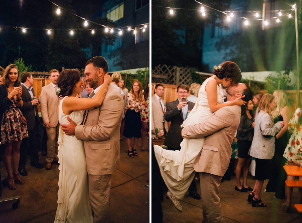 Real Weddings An Intimate Laughter Filled San Francisco Wedding By