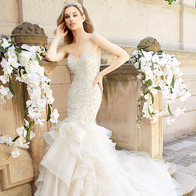 Moonlight Couture Spring 2017 Wedding Dresses - BridalPulse