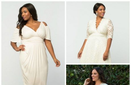 10 #PrettyPerfect Plus Size Bridal Shower Outfits