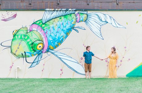 Kim & Brent's Colorful, Casual & Playful Annapolis Anniversary Session