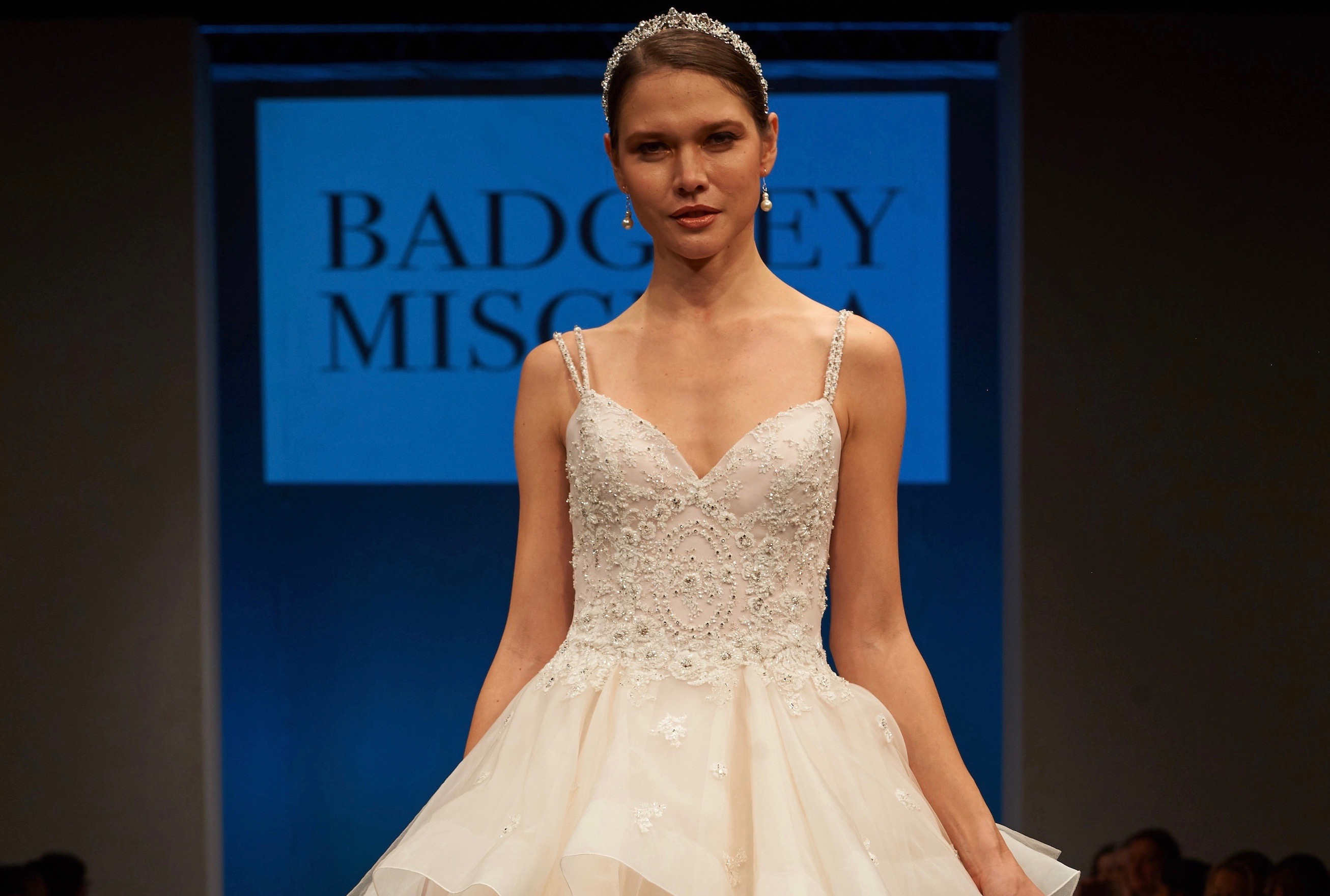 Wedding Gown Collections: Badgley Mischka (Spring, 2017)