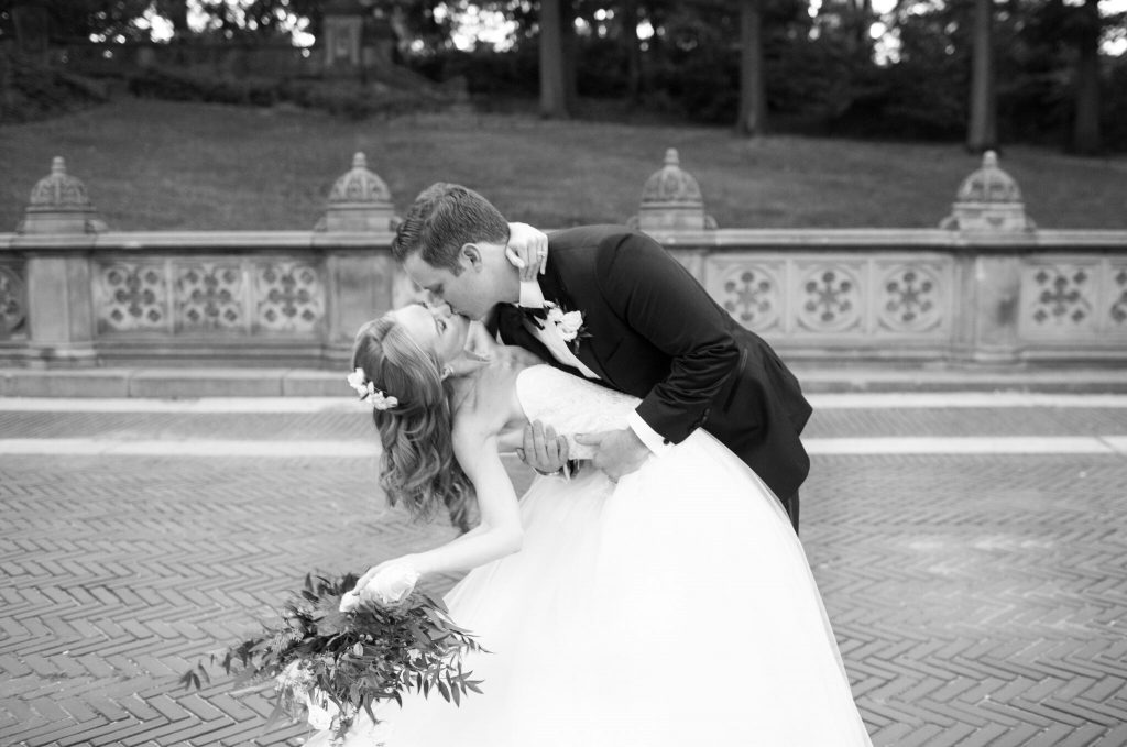 wedding planning tips and inspiration: central park bride and groom