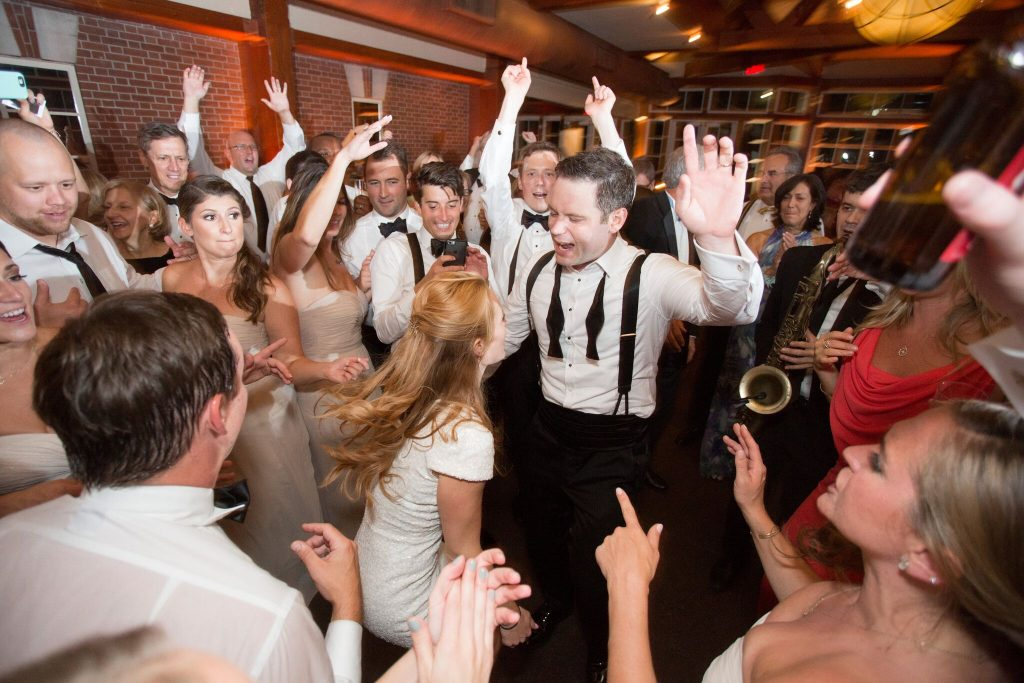 wedding planning tips and inspiration: bride and groom dancing at their nyc wedding