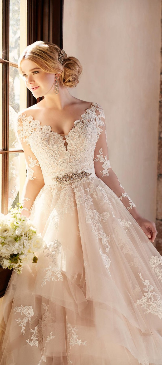 Stunning Winter Wedding Dresses - BridalPulse