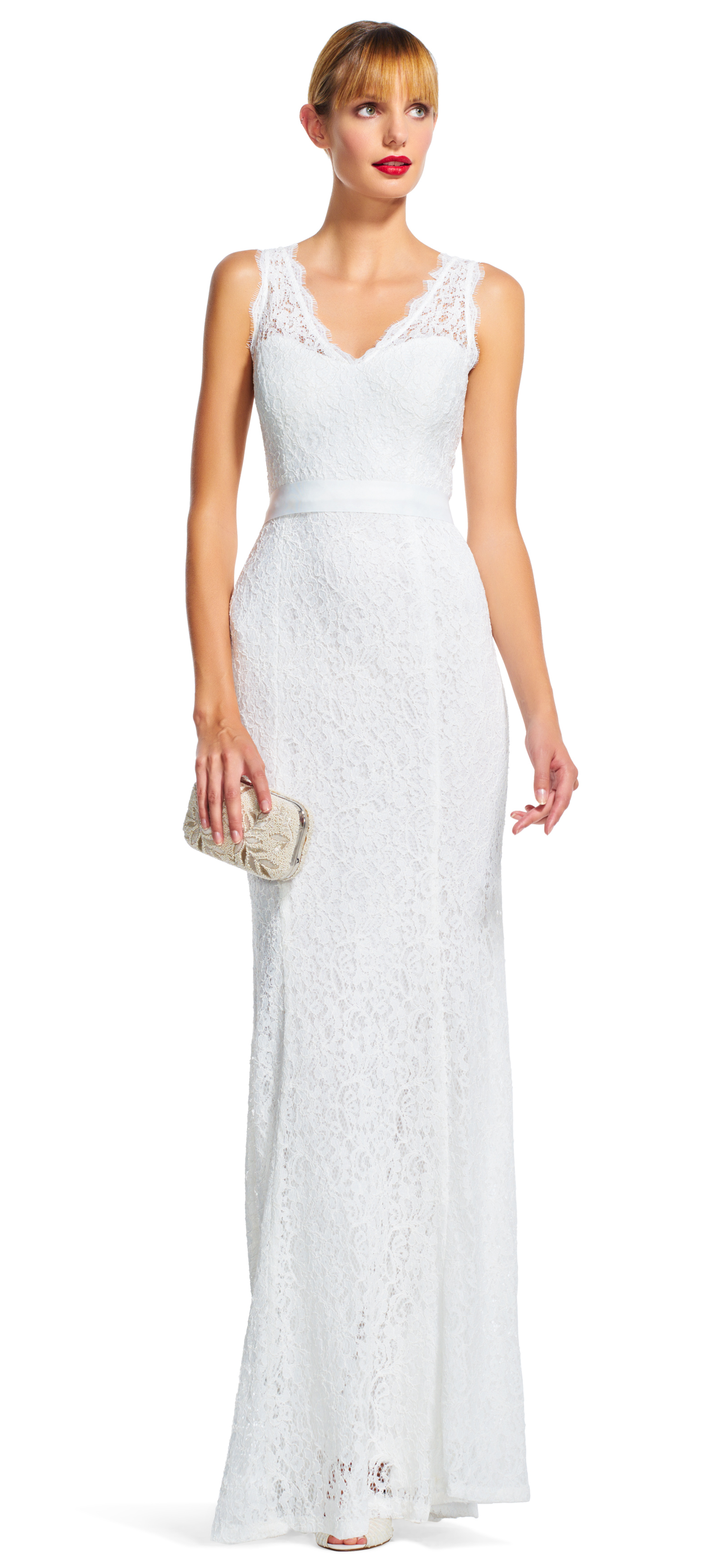 10 Adrianna Papell Gowns That Work For Your Second Wedding - BridalPulse