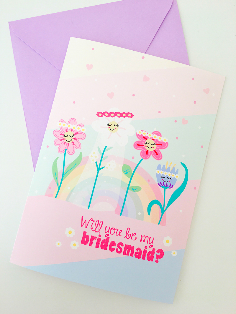 graphic relating to Will You Be My Bridesmaid Printable referred to as Absolutely free PRINTABLE BE MY BRIDESMAID CARD (AKA THE CUTEST CARD