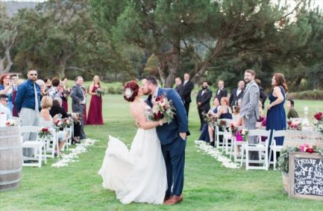 Wine Country Wedding: Napa Valley (Real Weddings)