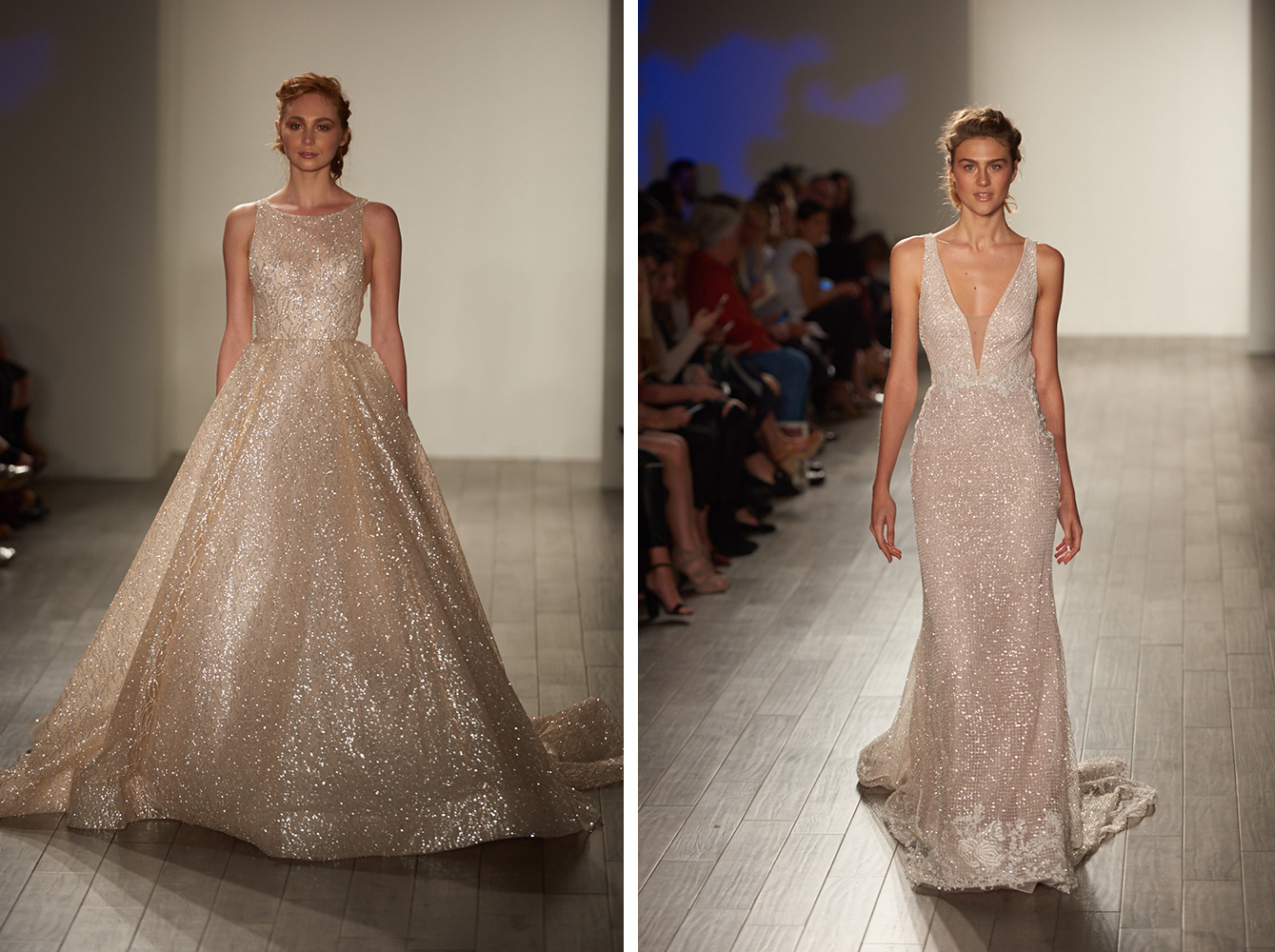 Spring Wedding Dress Trend All the Glitter