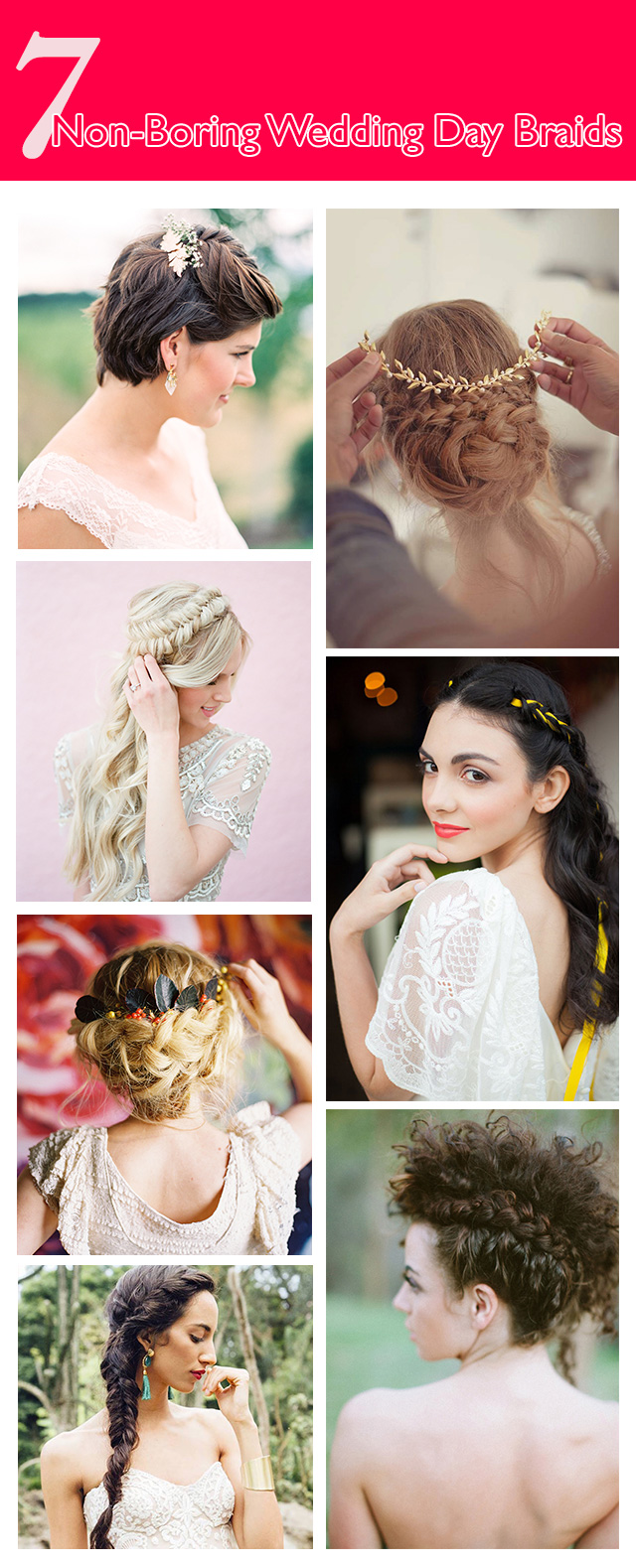 Wedding Day Braids
