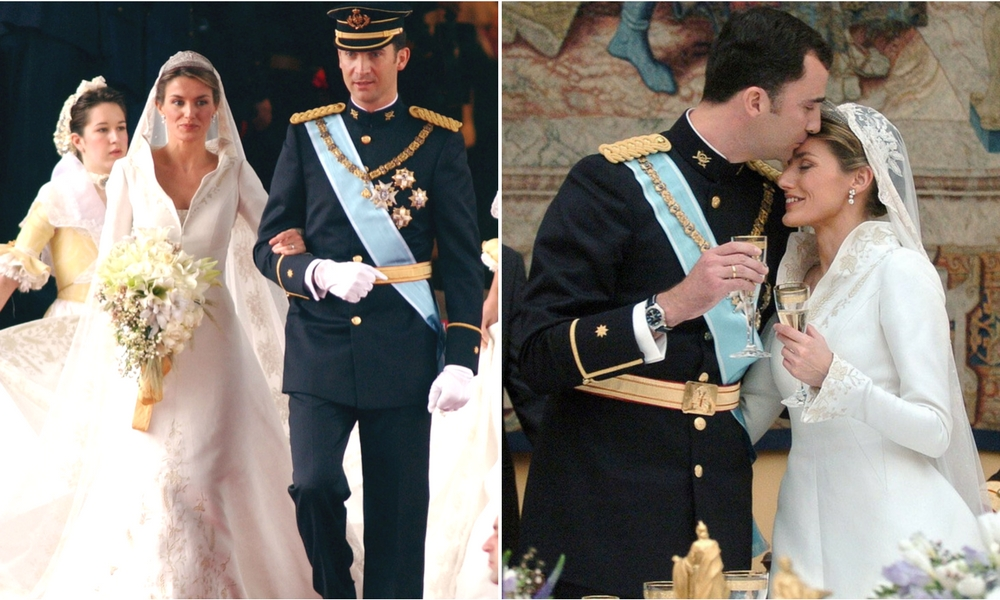 25 REAL LIFE PRINCESS\' STUNNING ROYAL WEDDING GOWNS - BridalPulse