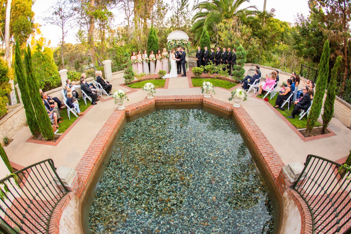 California Garden Real Wedding