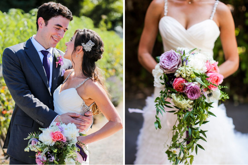 Wine Country Real Wedding