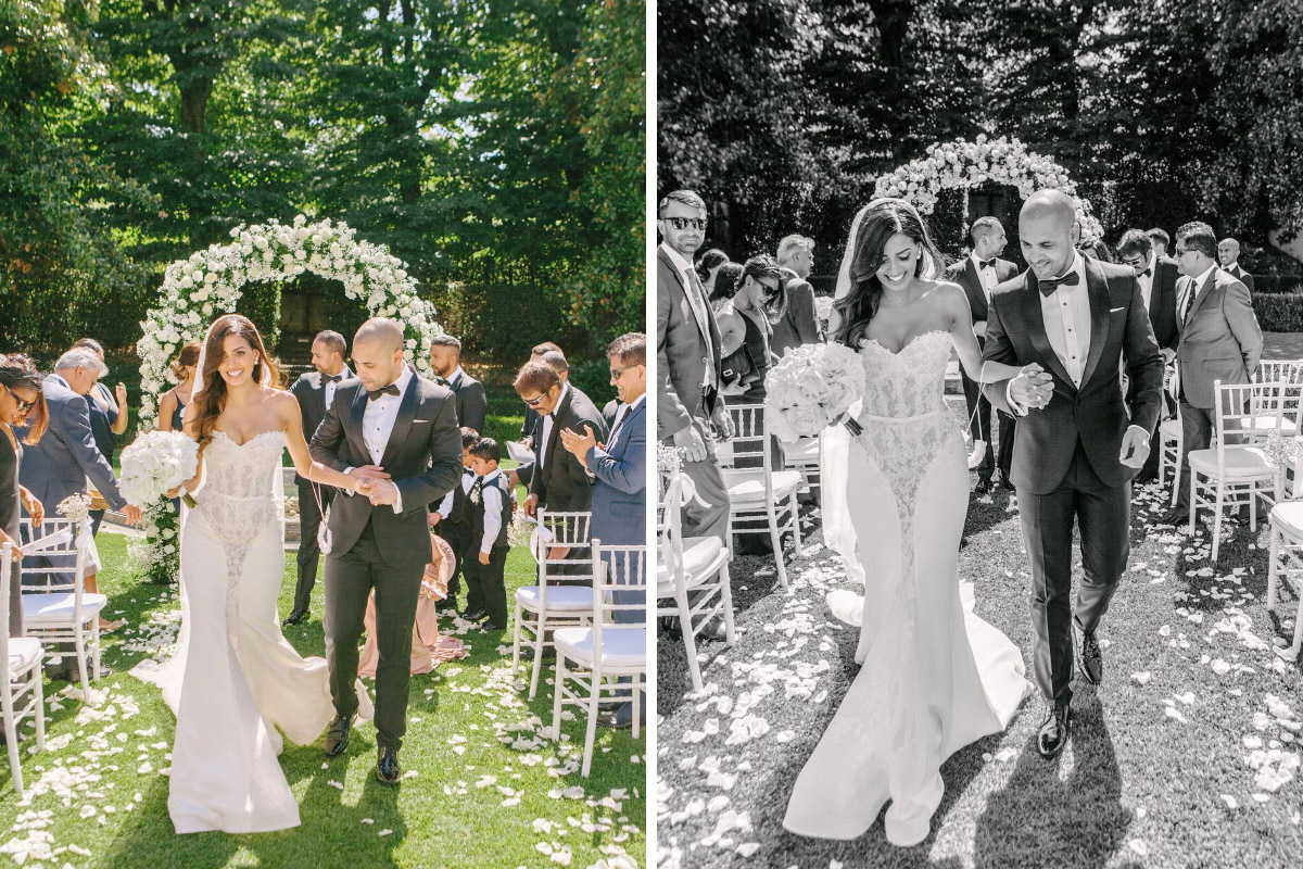 Dreamy Italian Real Wedding