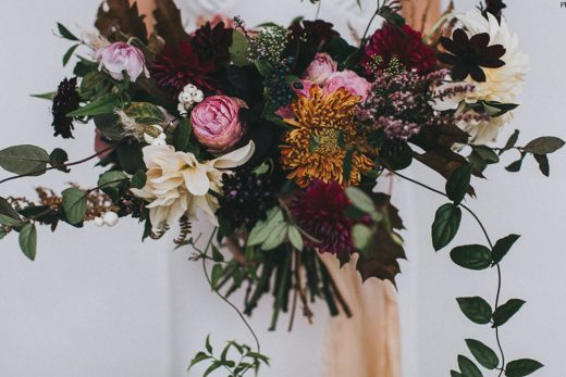 BridalPulse: 14 Floral Arrangements That Are Perfect For Your Upcoming Fall Wedding | Photo BY: Rock My Wedding | Follow @bridalpulse for more wedding inspiration!