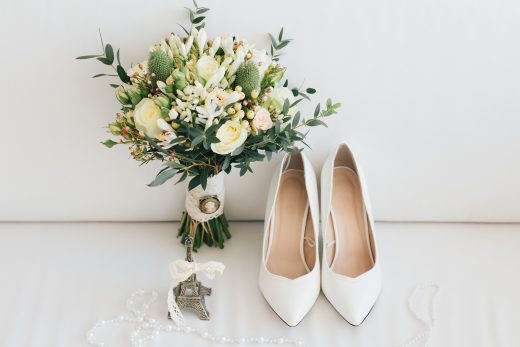 Bridal Pulse: 10 Bridal Shoes to Wear Down the Aisle | Follow @bridalpulse for more wedding inspiration!