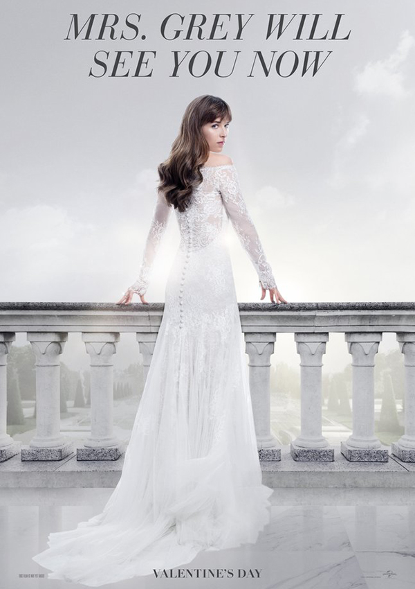 BridalPulse: Fifty Shades Freed Wedding Dress Reveal and 5 Similar Options to Shop Now | Photo By: PopSugar | Follow @bridalpulse for more wedding inspiration!