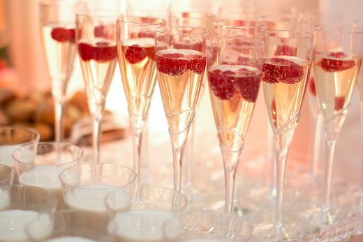BridalPulse: The Fanciest Cocktails We Found On Instagram | Photo: George Street Photo and Video | Follow @bridalpulse for more wedding inspiration!
