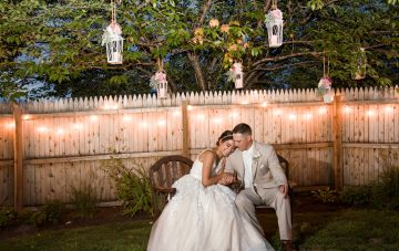BridalPulse: A Rustic and Intimate Wedding Set a Very Romantic Tone for This Real Wedding | Photo By: George Street Photo & Video | Follow @bridalpulse for more wedding inspiration!