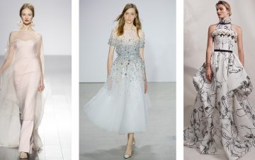 BridalPulse: Bridal Inspired Looks Straight From the NYFW Spring 2018 Runway | Photo By: Vogue | Follow @bridalpulse for more wedding inspiration!
