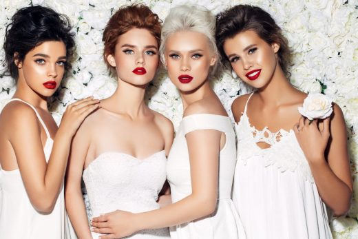 BridalPulse: Fall's Biggest Lip Trends Can Easily Be Translated to your Bridal Look | Follow @bridalpulse for more wedding inspiration!