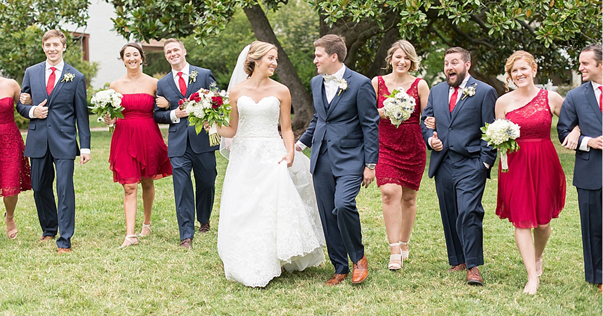 10 Red White And Blue Wedding Ideas On Instagram Bridalpulse