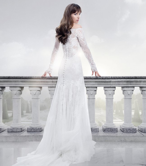 657398f705c Fifty Shades Freed Wedding Dress Reveal and 5 Similar Options to Shop Now