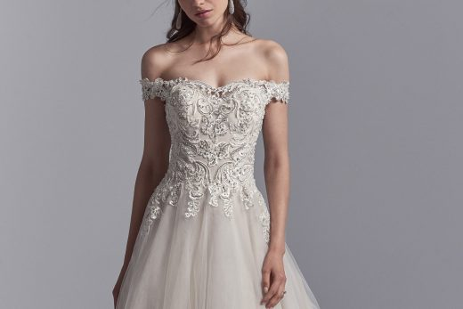 BridalPulse: From One Bride-to-Be to the Next: The 5 Fall 2018 Dresses That Have Me Swooning   Photo: Sottero and Midgley   Follow @bridalpulse for more wedding inspiration!