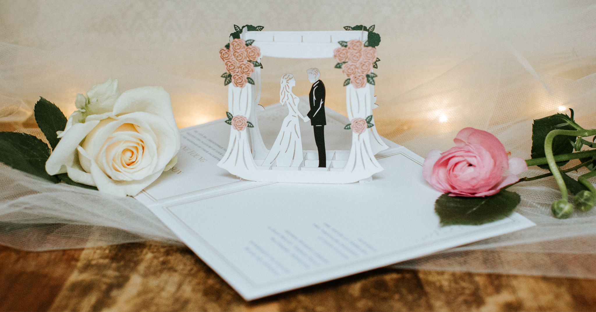 Want Your Wedding Invitations to Pop? Introducing Lovepop's Pop-Up Wedding Invitations - BridalPulse