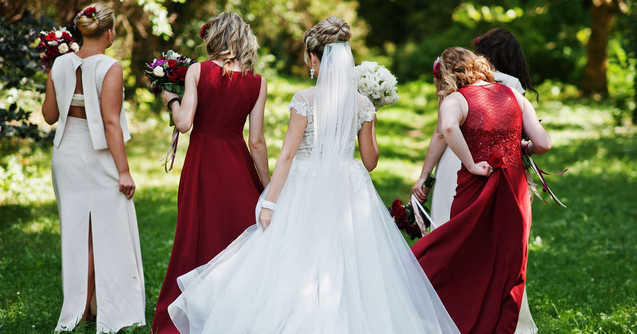 Nordstroms Bridesmaid Dresses | The Prettiest Maroon Bridesmaids Dress Under 200 Bridalpulse