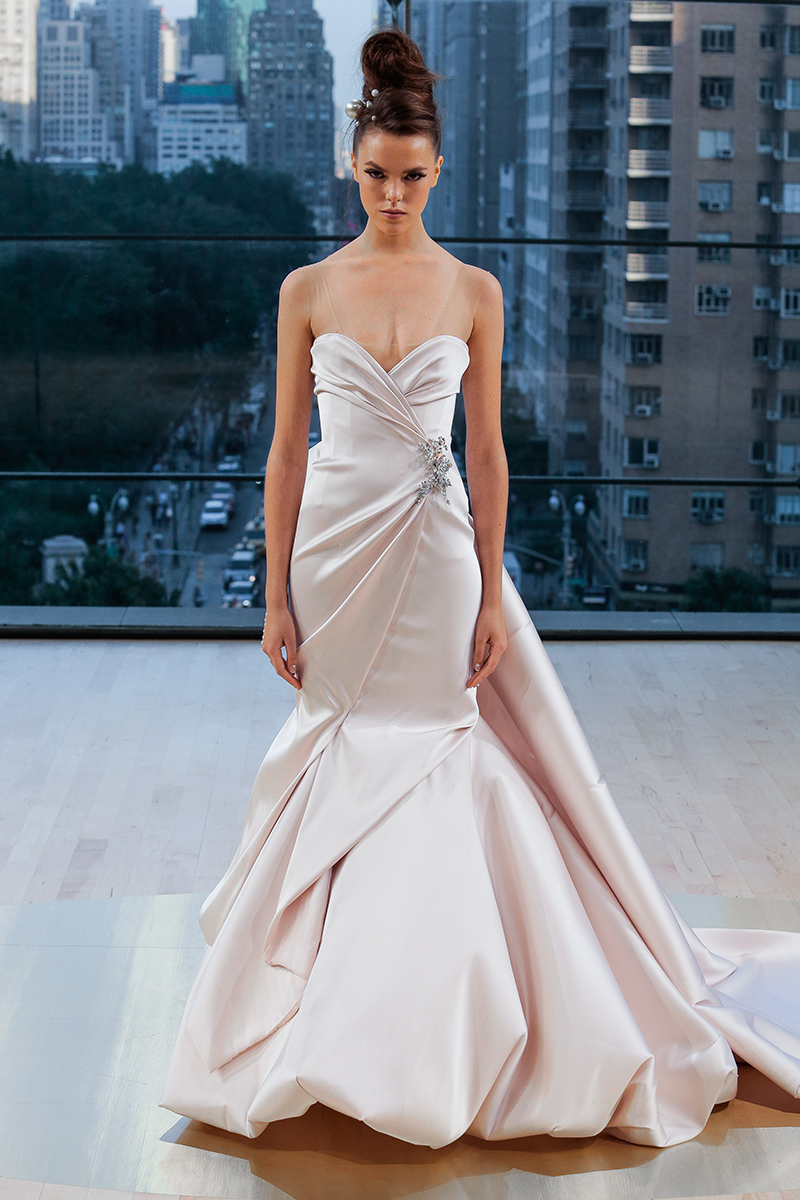 BridalPulse: The 5 Biggest Trends From Bridal Fashion Week Fall 2018 | Photo: Ines Di Santo | Follow @bridalpulse for more wedding inspiration!