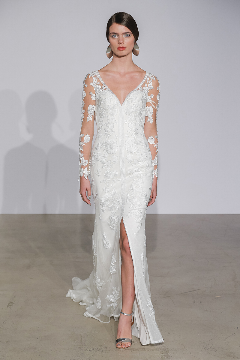 BridalPulse: Justin Alexander's Fall 2018 Collection | Photo: Justin Alexander | Follow @bridalpulse for more wedding inspiration!