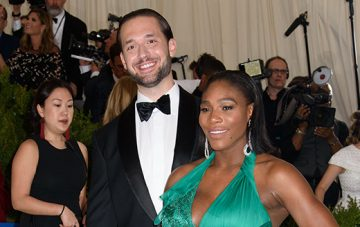 BridalPulse: Serena Williams And Alexis Ohanian Are Married | Photo: Splash News | Follow @splashnews for more wedding inspiration!