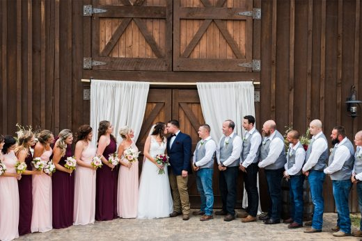 BridalPulse: Real Wedding: Lindsey and Adam | Photo: Joy Wildflower Photography | Follow @bridalpulse for more wedding inspiration!