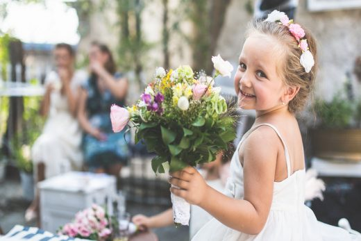 BridalPulse: From One Bride-to-Be to the Next: Is it Rude to Not Invite Children to Your Wedding? | Photo: iStock | Follow @bridalpulse for more wedding inspiration!