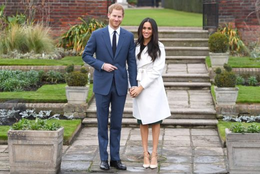 BridalPulse: Prince Harry Is Officially Engaged to Meghan Markle And Shows Off Her Engagement Ring   Photo: Splash News   Follow @bridalpulse for more wedding inspiration!