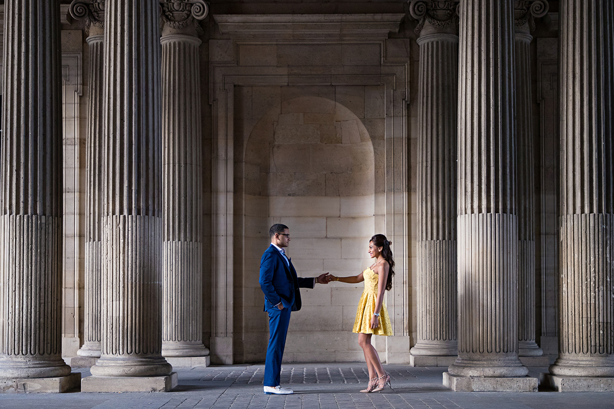 BridalPulse: Real Engagement: Paris | Photo: Cengiz Ozelsel Kiss In Paris | Follow @bridalpulse for more wedding inspiration!