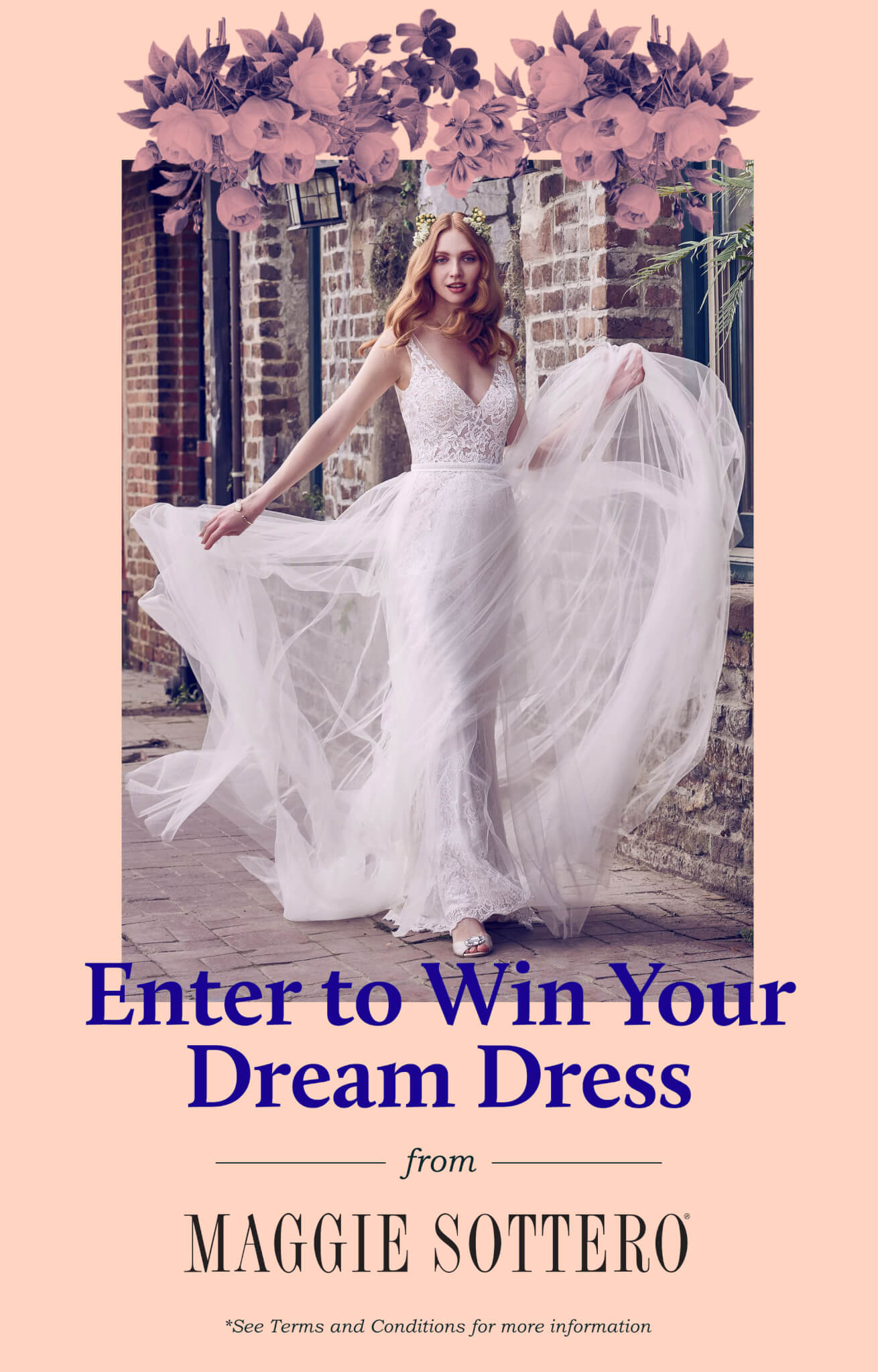 Wedding Dress Giveaway: Enter to Win A Free Maggie Sottero Gown