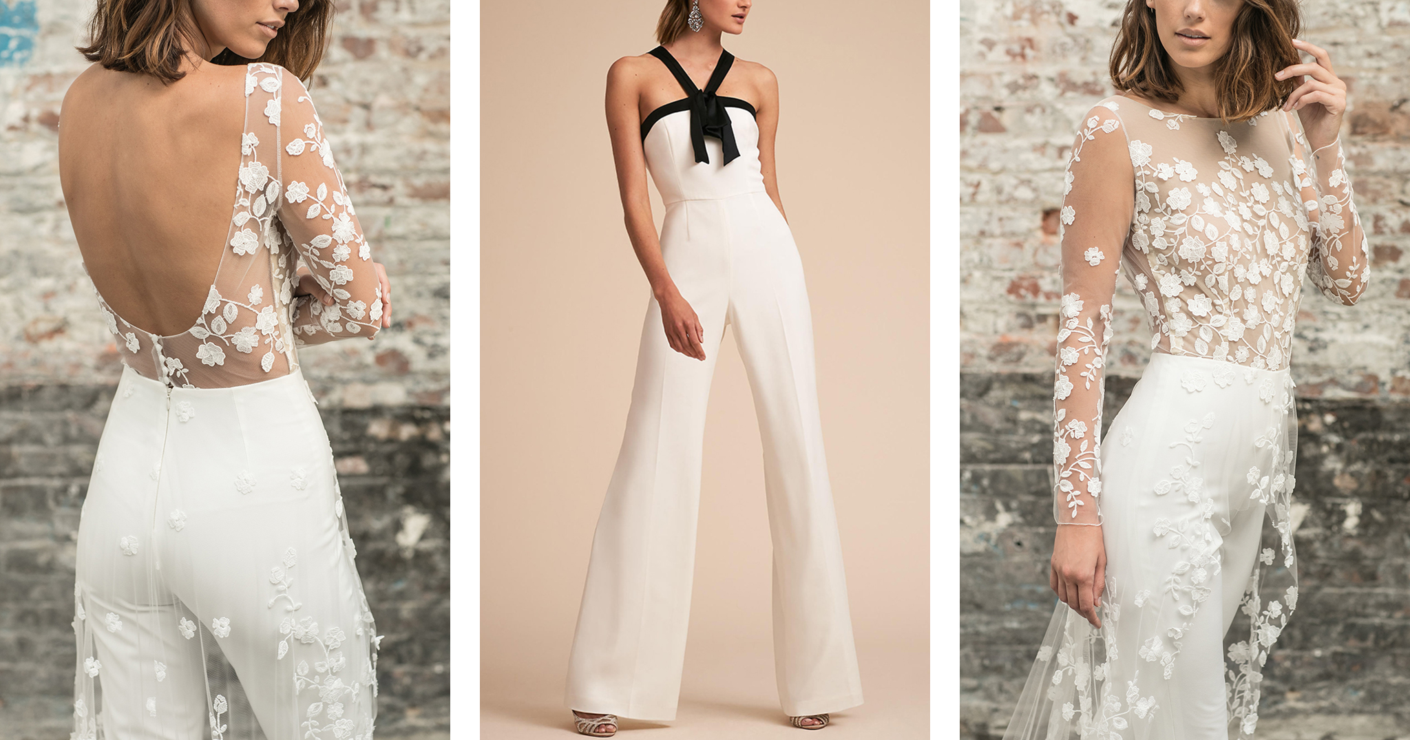 How To Incorporate A Wedding Jumpsuit Into Your Bridal Look ...